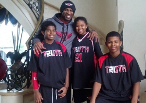 Deion Saunders & Family