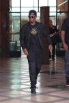 P. Diddy leaves medical building in beverly hills